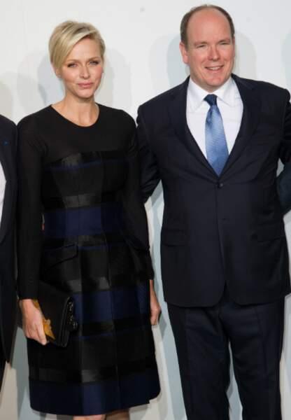 Charlene et Albert de Monaco