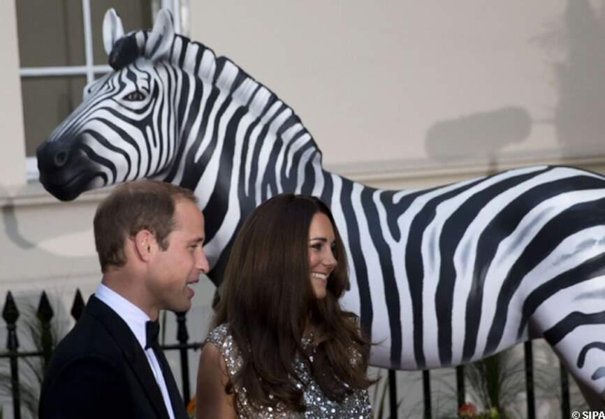 Kate et William étaient ravis de participer à cette soirée de prestige