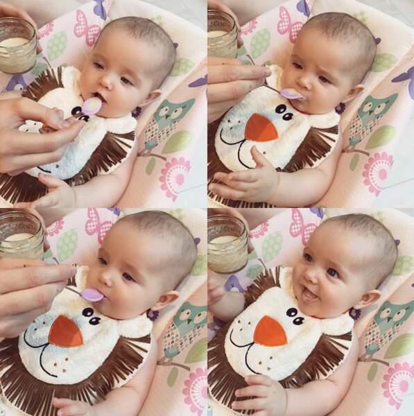 Ioni est le premier bébé du mannequin Coco Rocha