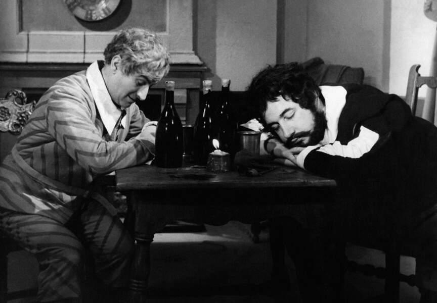 Le Capitaine Fracasse de Pierre Gaspard-Huit (1960). Avec Philippe Noiret. D'après le roman de Theophile Gautier