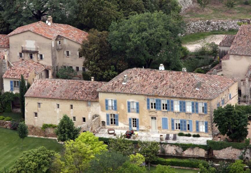 Le château de Miraval en Provence appartenant à Brad Pitt et Angelina Jolie