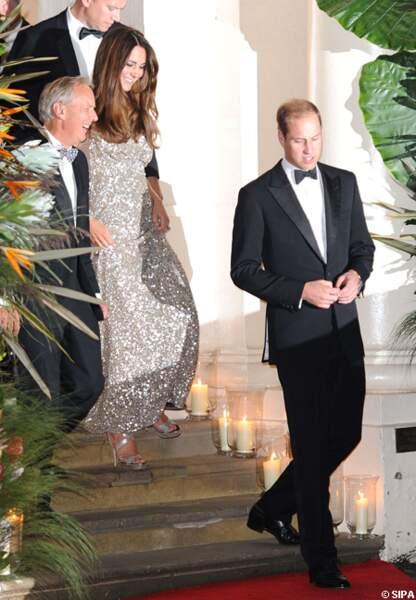 Le prince William et la princesse Kate étaient contents de pouvoir faire quelques mondanités