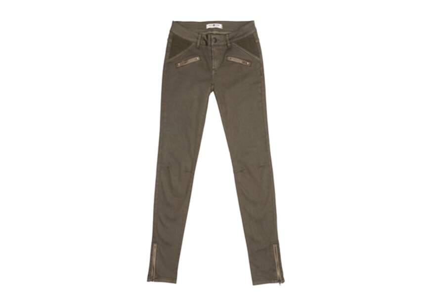 Cache-cache- Pantalon kaki – 35,99€