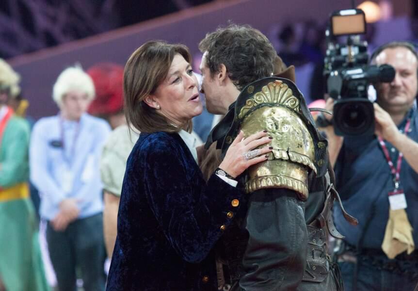 Caroline de Monaco et Guillaume Canet