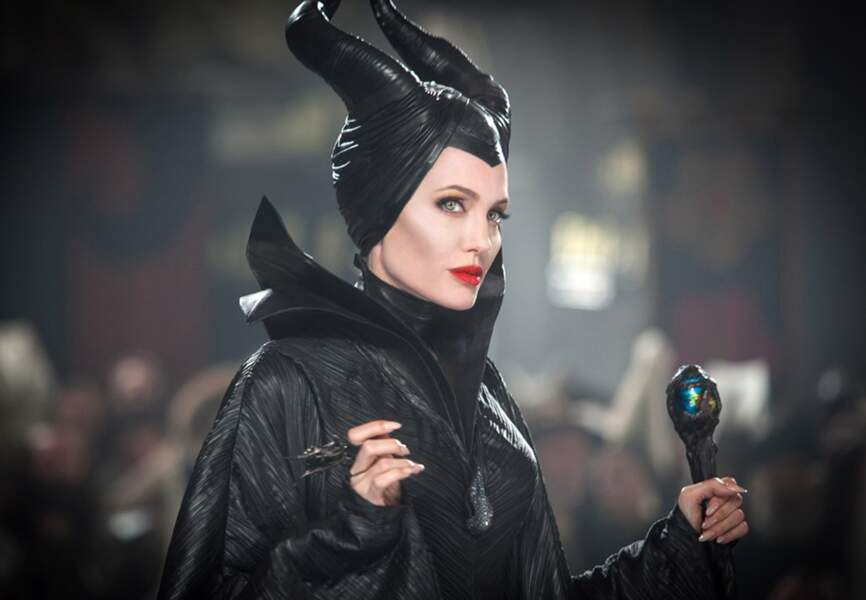 Angelina Jolie en fée Maléfique. De Robert Stromberg. (2014)