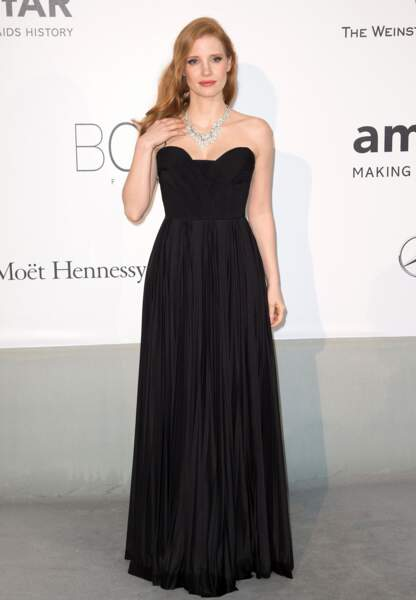 Jessica Chastain en Givenchy Haute Couture