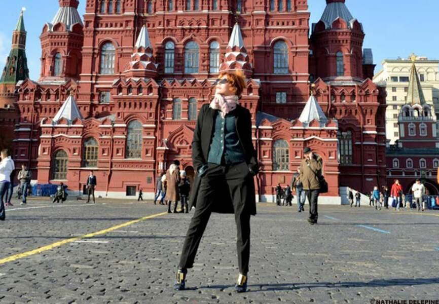 En spectacle à Moscou