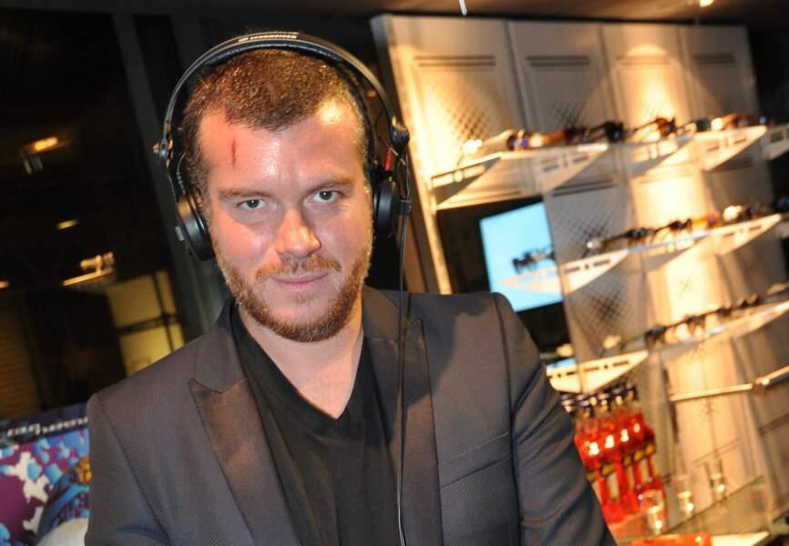Le DJ Cédric Couvez
