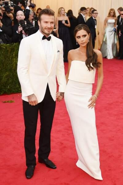 Mr & Mrs Beckham, chics comme à l'accoutumée