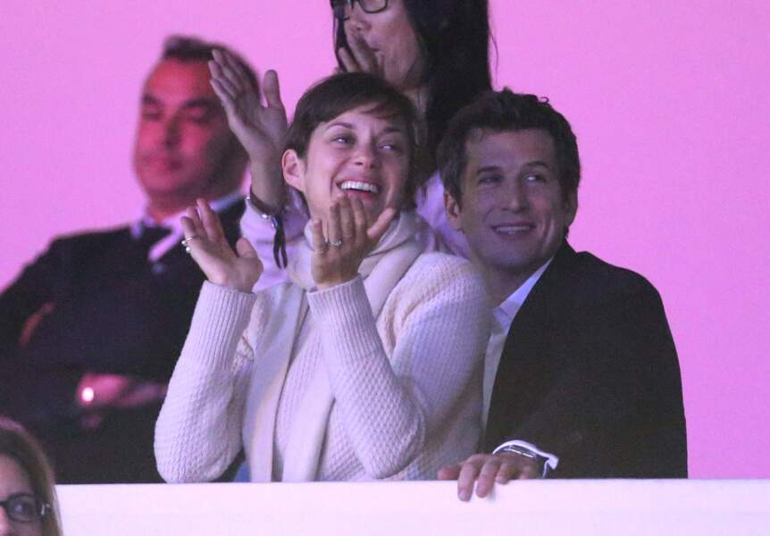 Une performance également applaudie par Marion Cotillard et Guillaume Canet