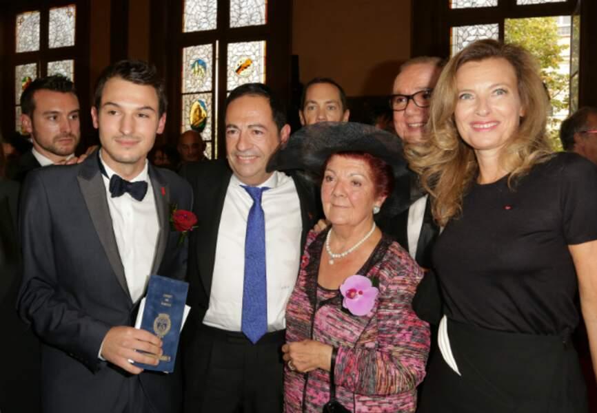 Au mariage du conseiller régional Jean-Luc Roméro avec son compagnon Christophe Michel