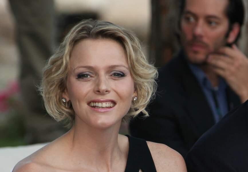 Charlène de Monaco : Carré wavy pour la future princesse