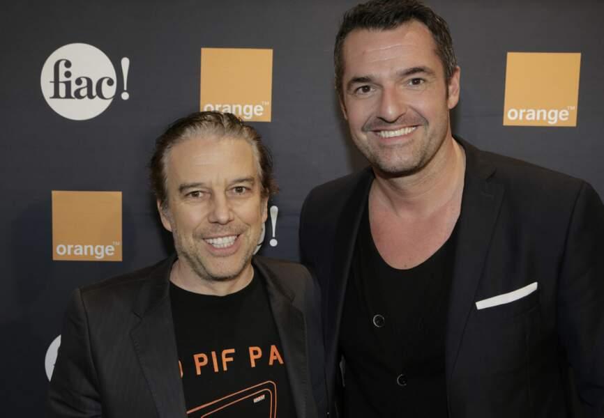 Philippe Vandel et Arnaud Ducret