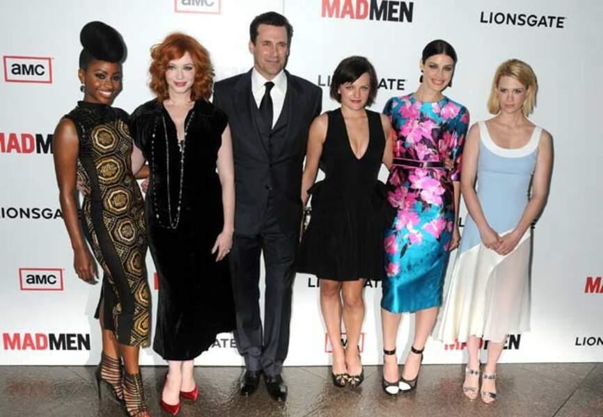 Les comédiens prêts pour la sixième saison de Mad Men