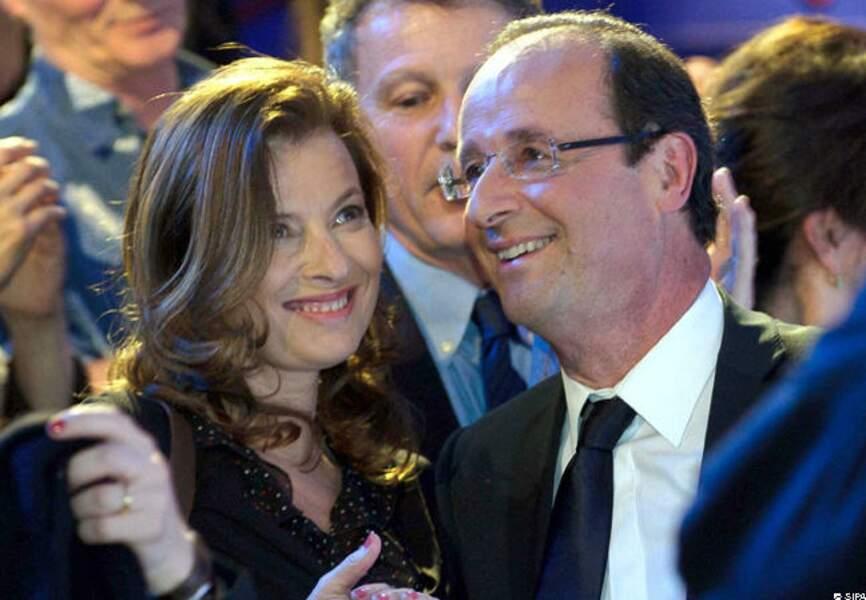 Un couple heureux dans les déplacements présidentiels