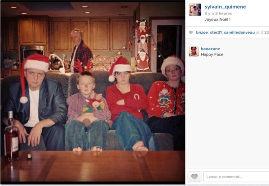 Twitter se prépare aux fêtes de fin d'année, avec notamment cette jolie photo de @sylvain_quimene (gunther love)