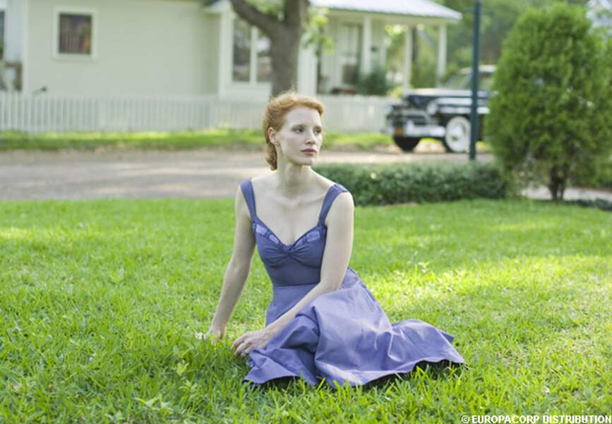 Jessica Chastain dans The Tree of life 2011