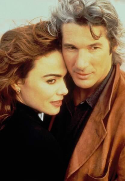 Avec Lena Olin dans Mr Jones en 1993