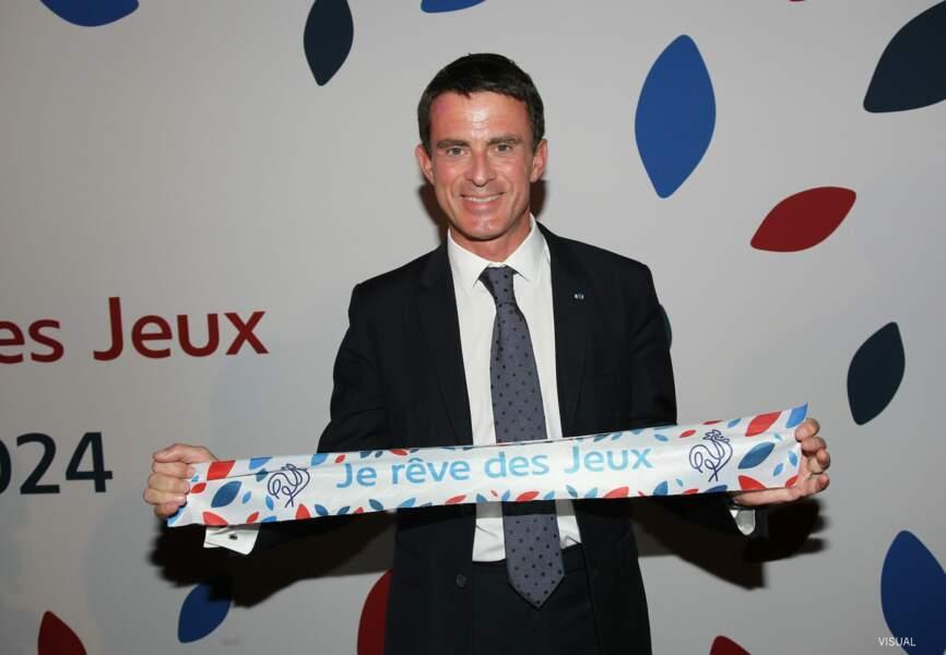 Le Premier ministre Manuel Valls était présent pour supporter la candidature
