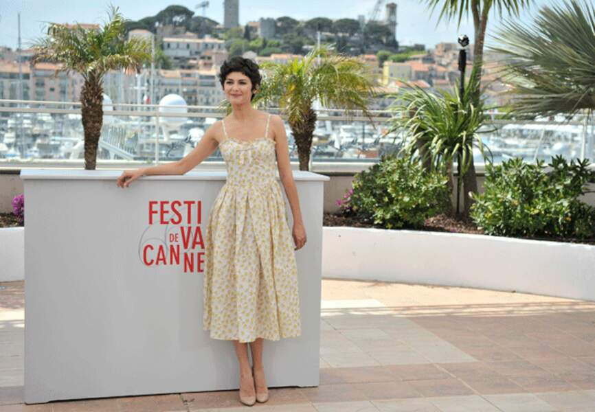 L'actrice inaugure le photocall cannois