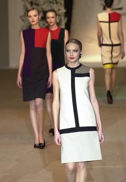 Sa robe Mondrian