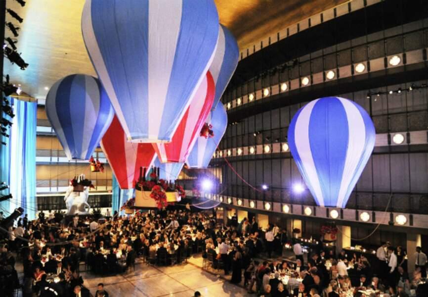 La salle du dîner au Lincoln Center