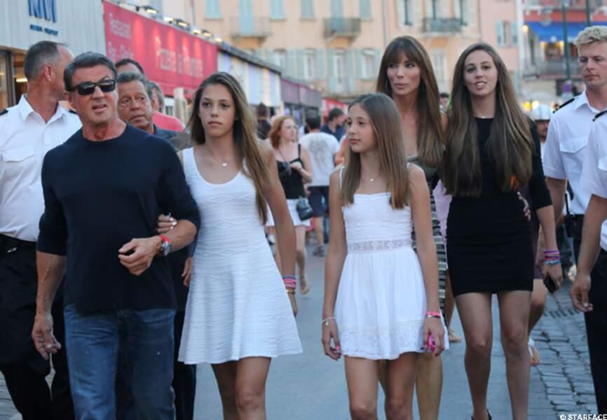 Du côté des filles... Sylvester Stallone