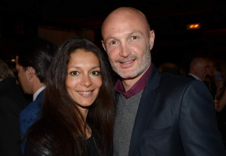 Franck Leboeuf et sa compagne