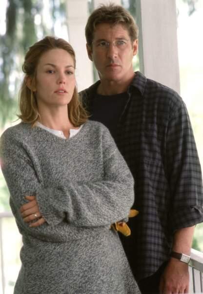 Richard Gere et Diane Lane dans Infidèle en 2002