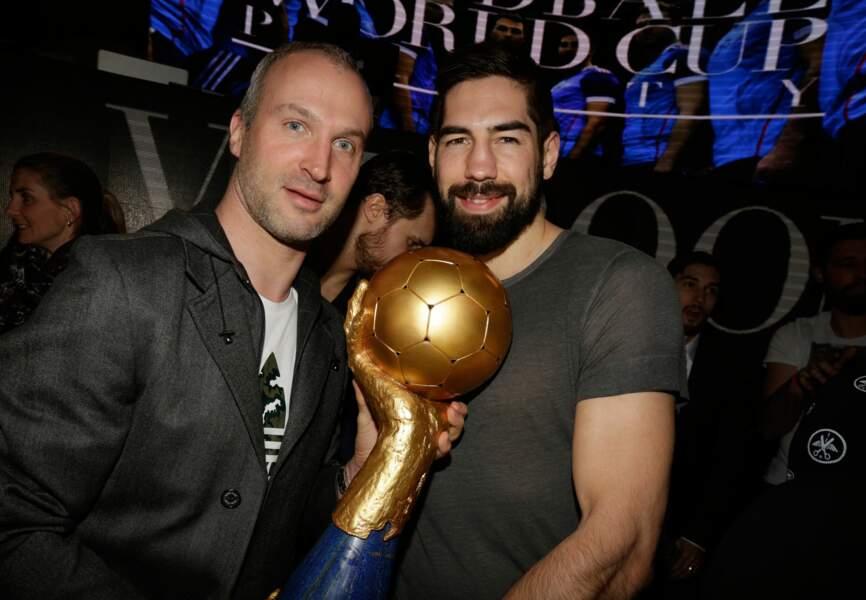Nikola Karabatic et Thierry Omeyer