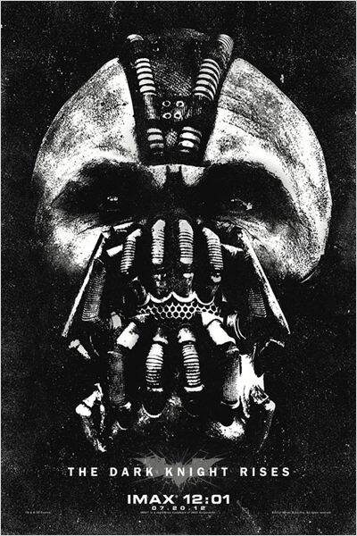 The Dark Knight Rises de Christopher Nolan en 2012