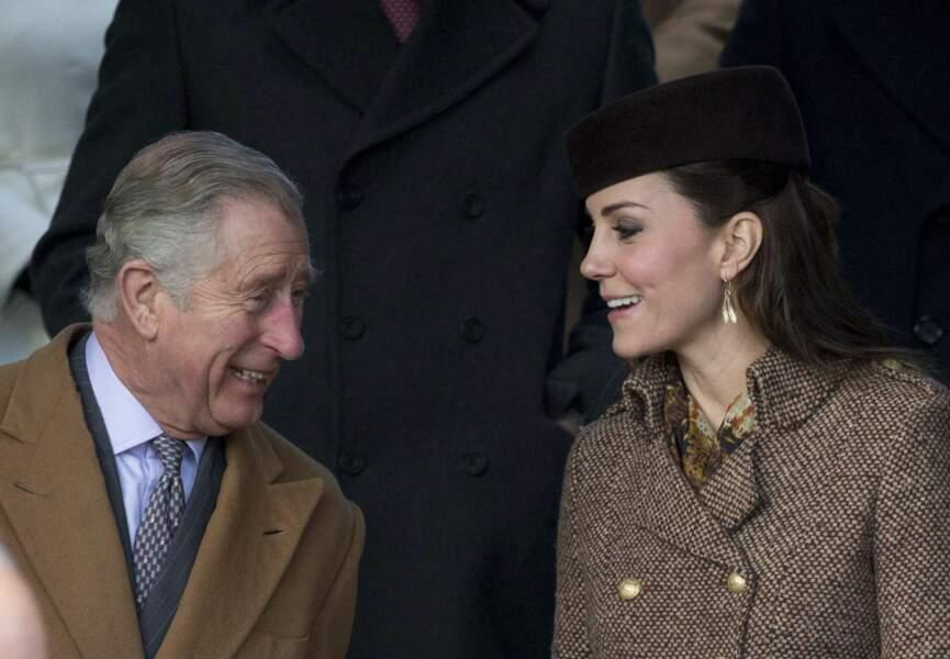 Charles et Kate en grande discussion