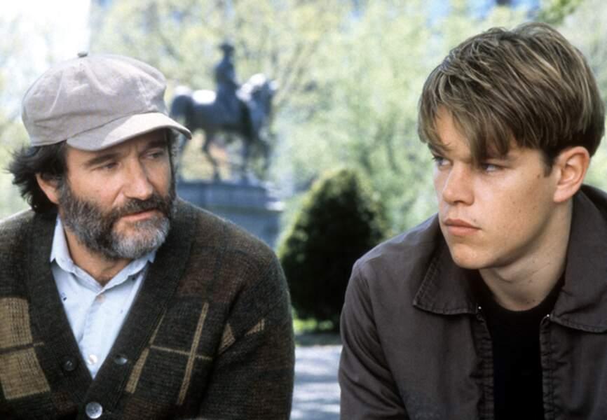 Matt Damon débute sa carrière sur les traces d'un surdoué, Will Hunting en 1997