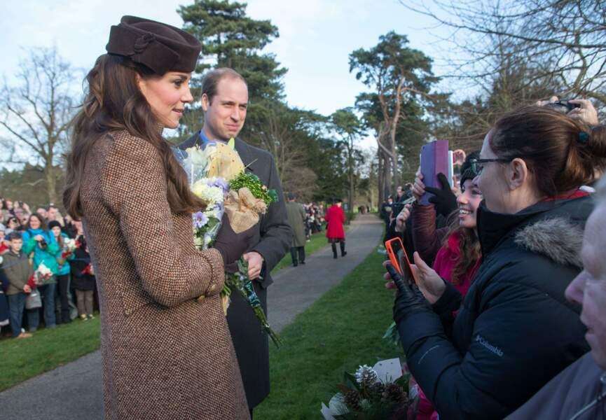 Kate et William ont pris le temps de poser pour des photos souvenirs