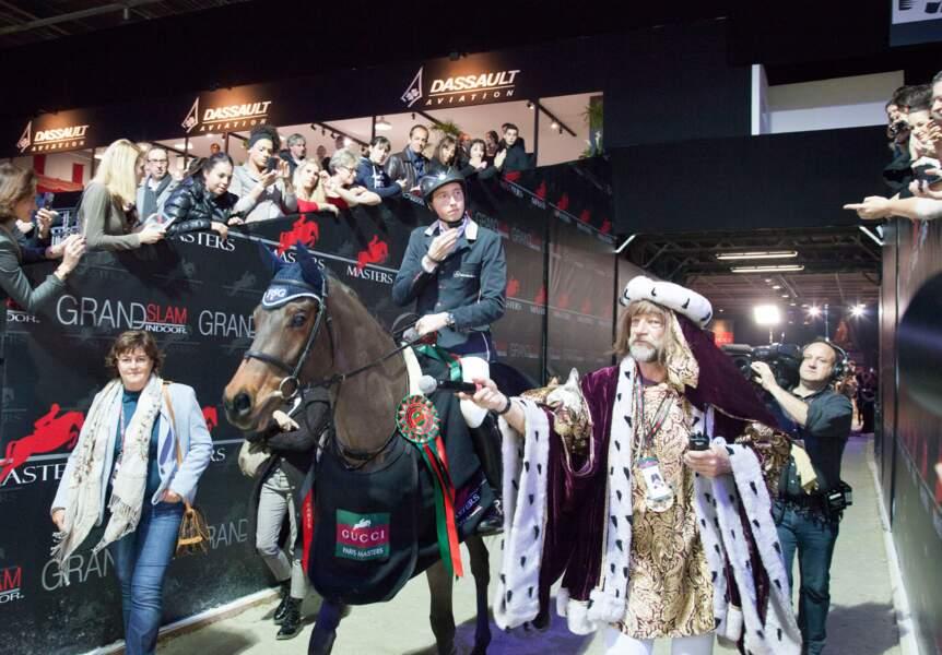 Mais le grand gagnant de ce Gucci Grand Prix est le Suisse Martin Fuchs, avec PSG Future