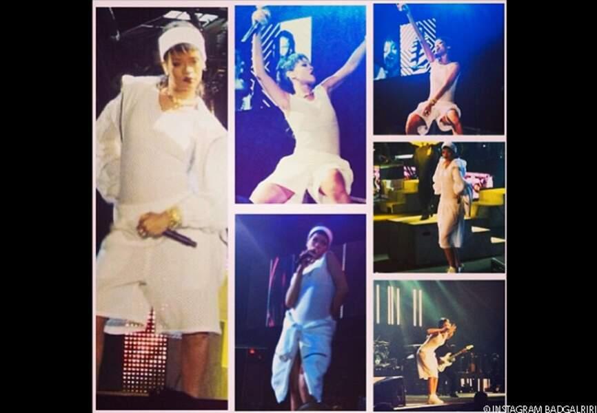 Rihanna: moments choisis de son concert à Manilla