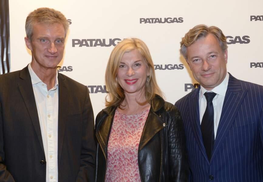 Thierry-Gasquet,-DG-de-Pataugas-Michèle-Laroque-et-Marc-Lelandais-PDG-du-groupe-Vivarte