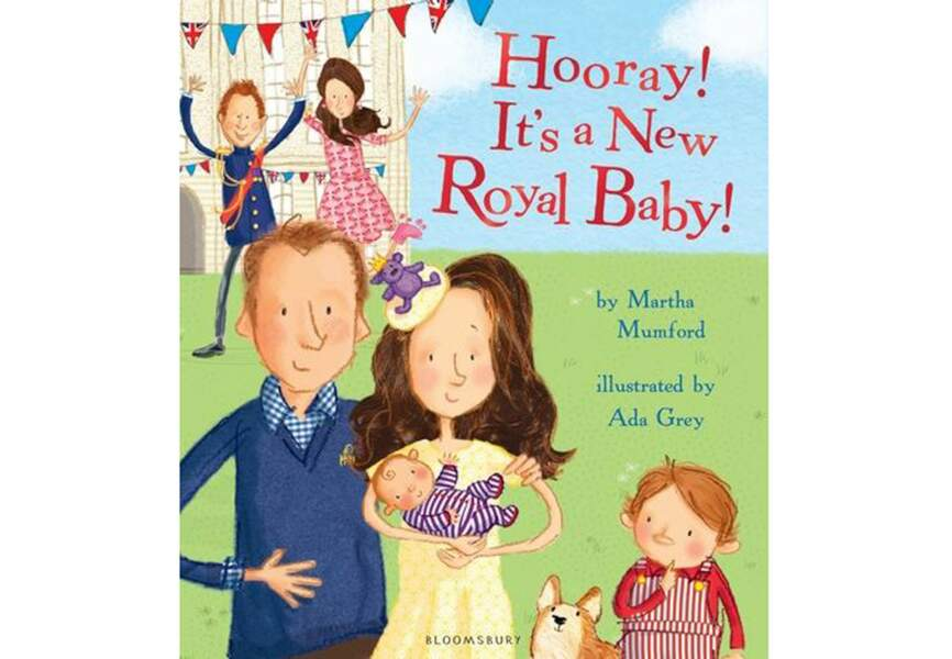 Un livre éducatif sur la naissance d'un second Royal Baby... par Martha Mumford, 8,80€
