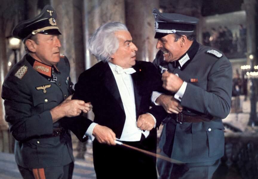 La Grande Vadrouille de Gérard Oury (1966). Avec Bourvil et Terry Thomas