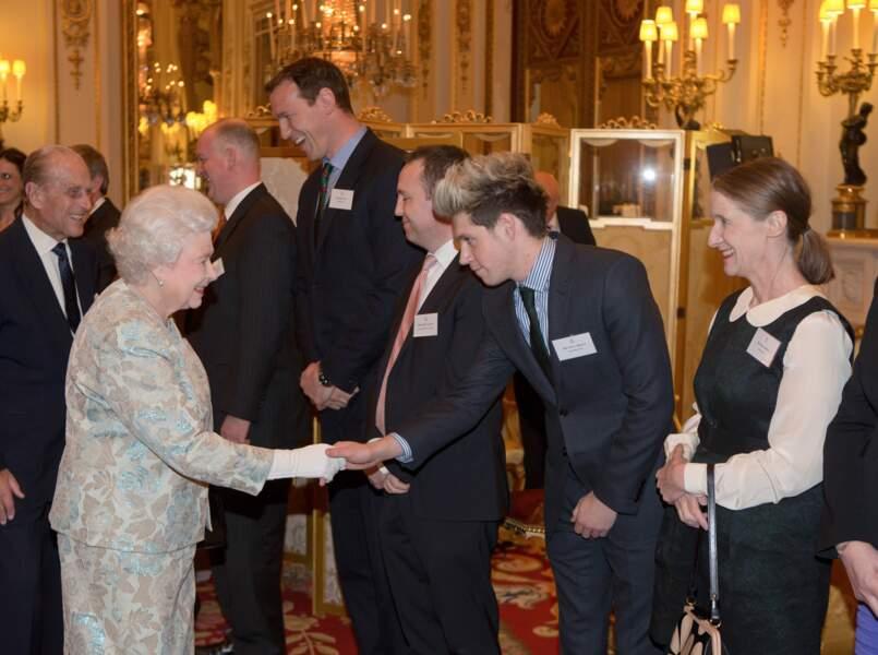 La reine connaît même les One Direction