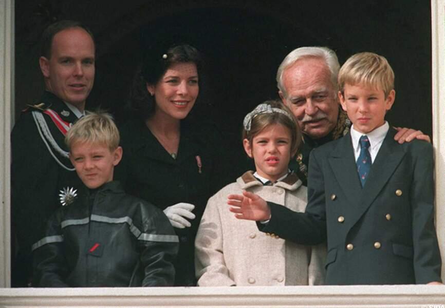 Rainier III ou la fierté d'un grand-père