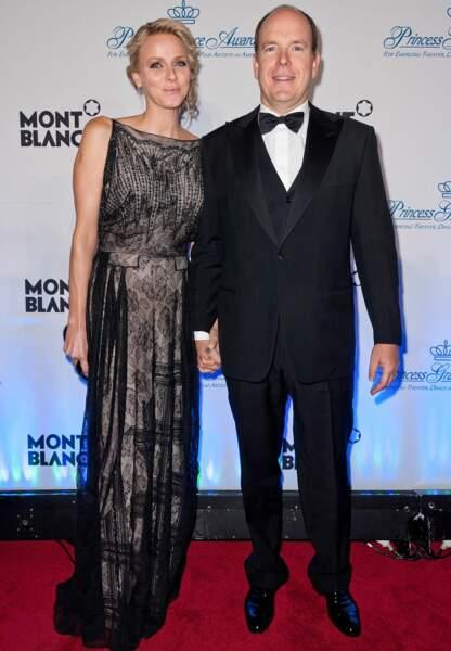 Charlène choisit Dior lors du Gala annuel de la fondation Princesse Grace en novembre 2011
