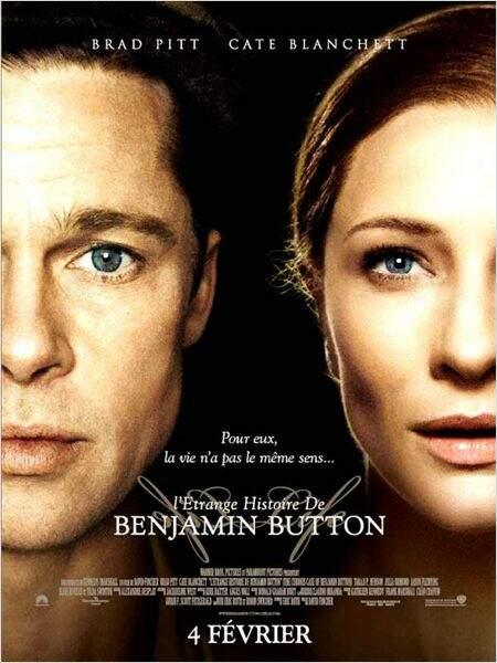 L'étrange histoire de Benjamin Button, de David Fincher en 2008