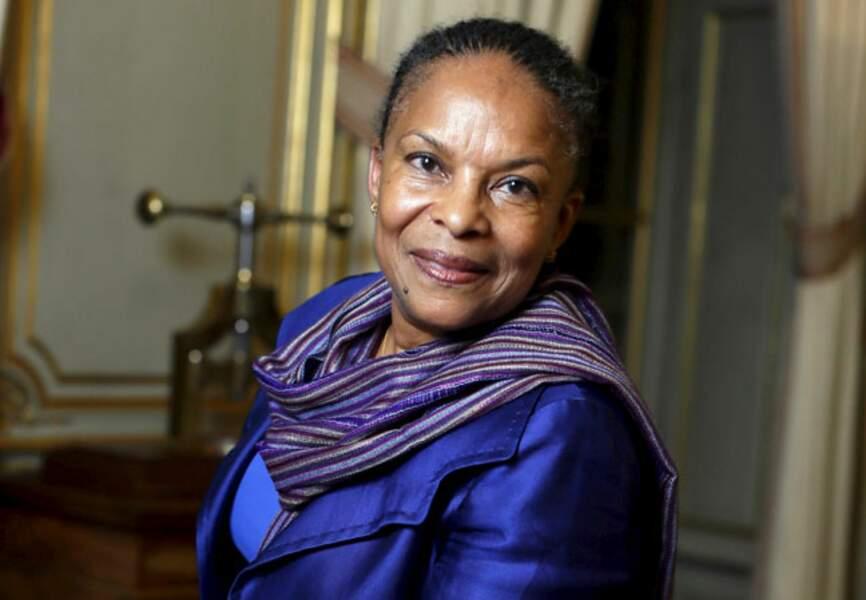 Christiane Taubira, garde des Sceaux qui dit non aux attaques racistes