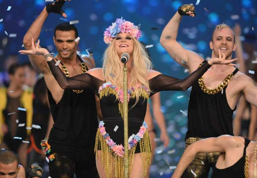 Le show chaud de Kesha