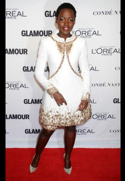 L'actrice choisit une robe Chanel haute couture pour les Glamour Women of the Year Awards