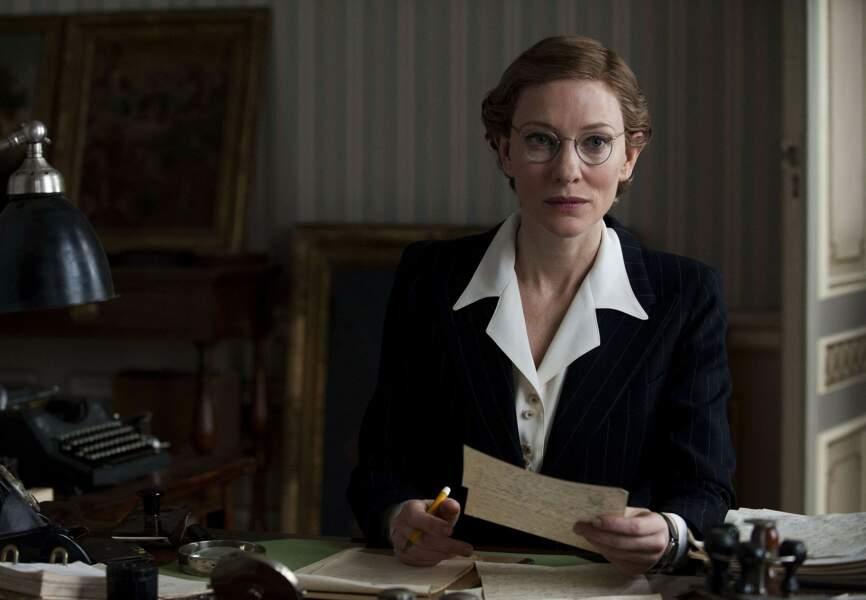 Cate Blanchett traverse les âges pour Monuments men