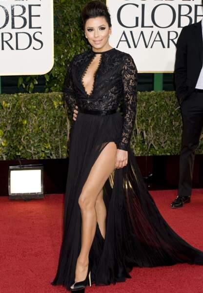Magnifique Eva Longoria à la soirée des Golden Globes