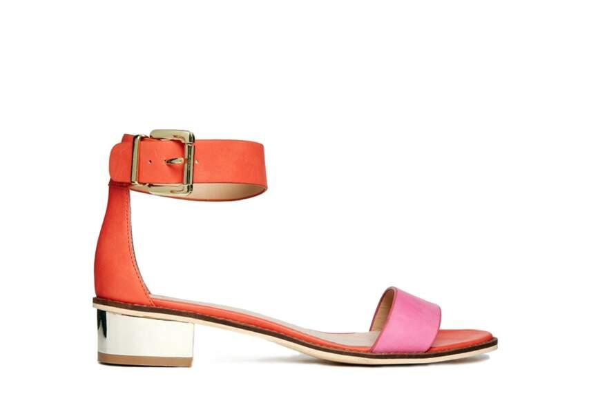Asos, sandales Fluent, 42,25€