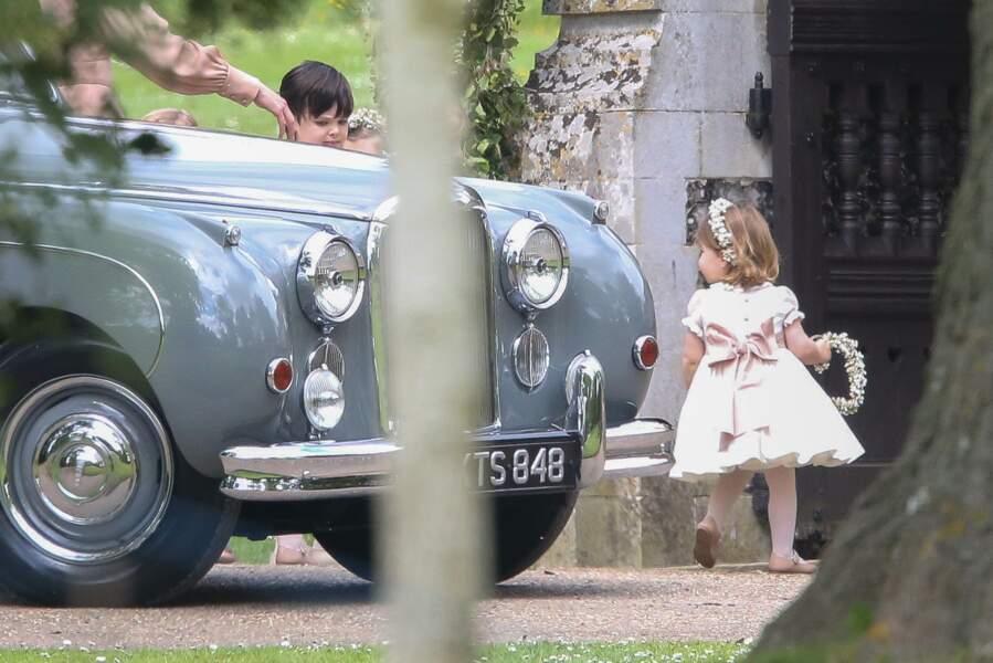 La princesse Charlotte, très indépendante
